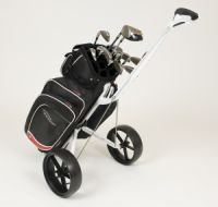 Golf-Trolley mit Bag 200